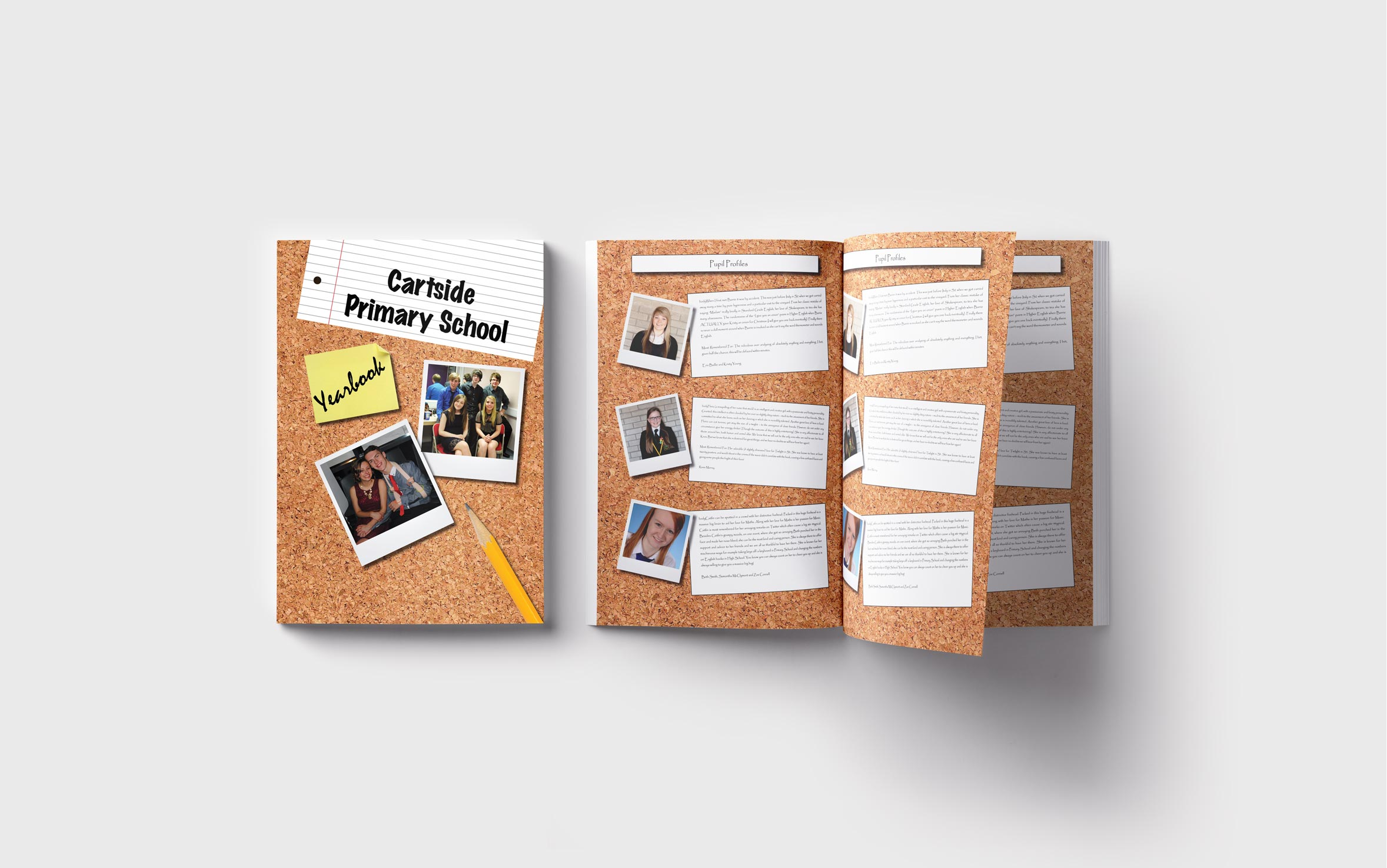 Primary Yearbooks Elephant Yearbooks Scrapbook Mockup