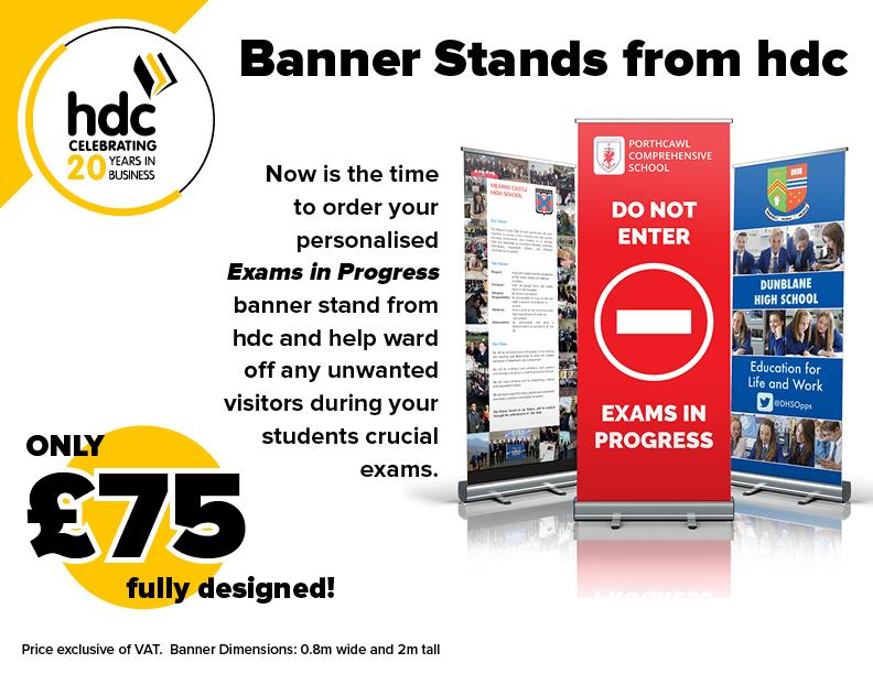 Banner Stand Advert Offer