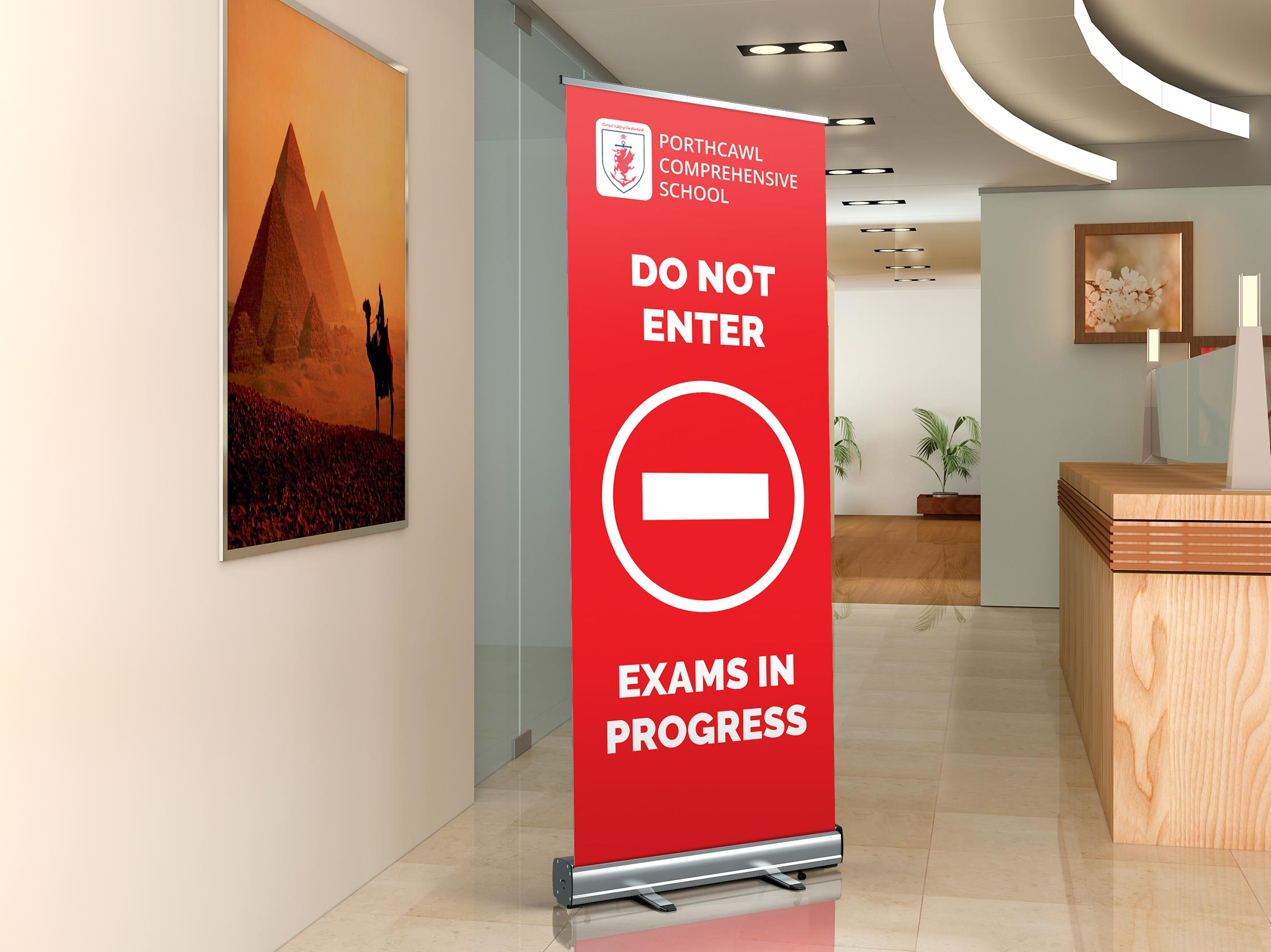 Roller Banner Stands Image 2 Products