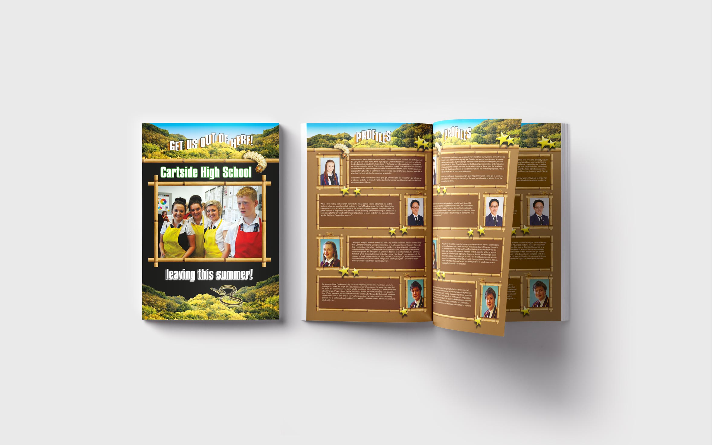 Primary Yearbooks Elephant Yearbooks Celeb Mockup
