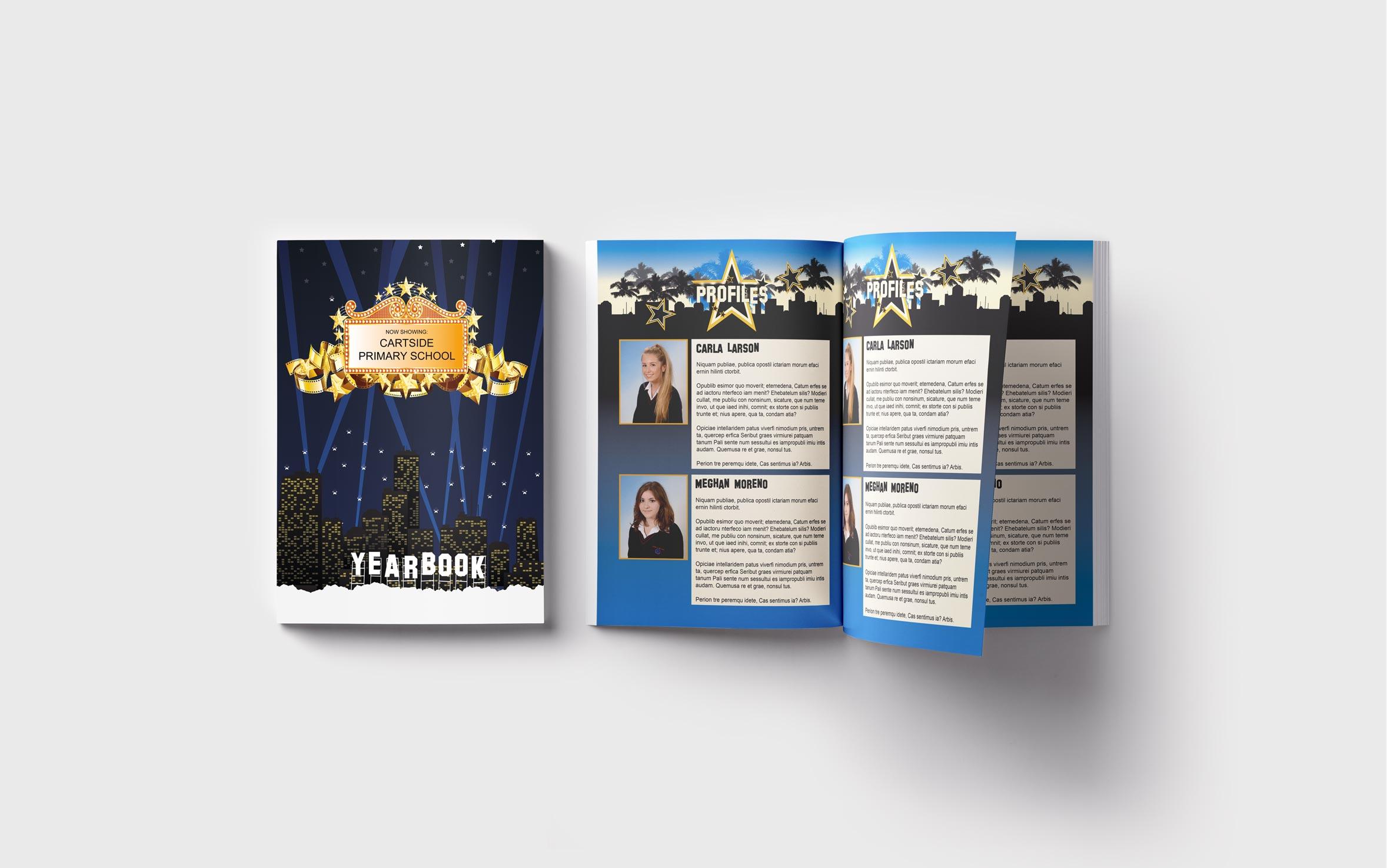 Primary Yearbooks Elephant Yearbooks LA Mockup