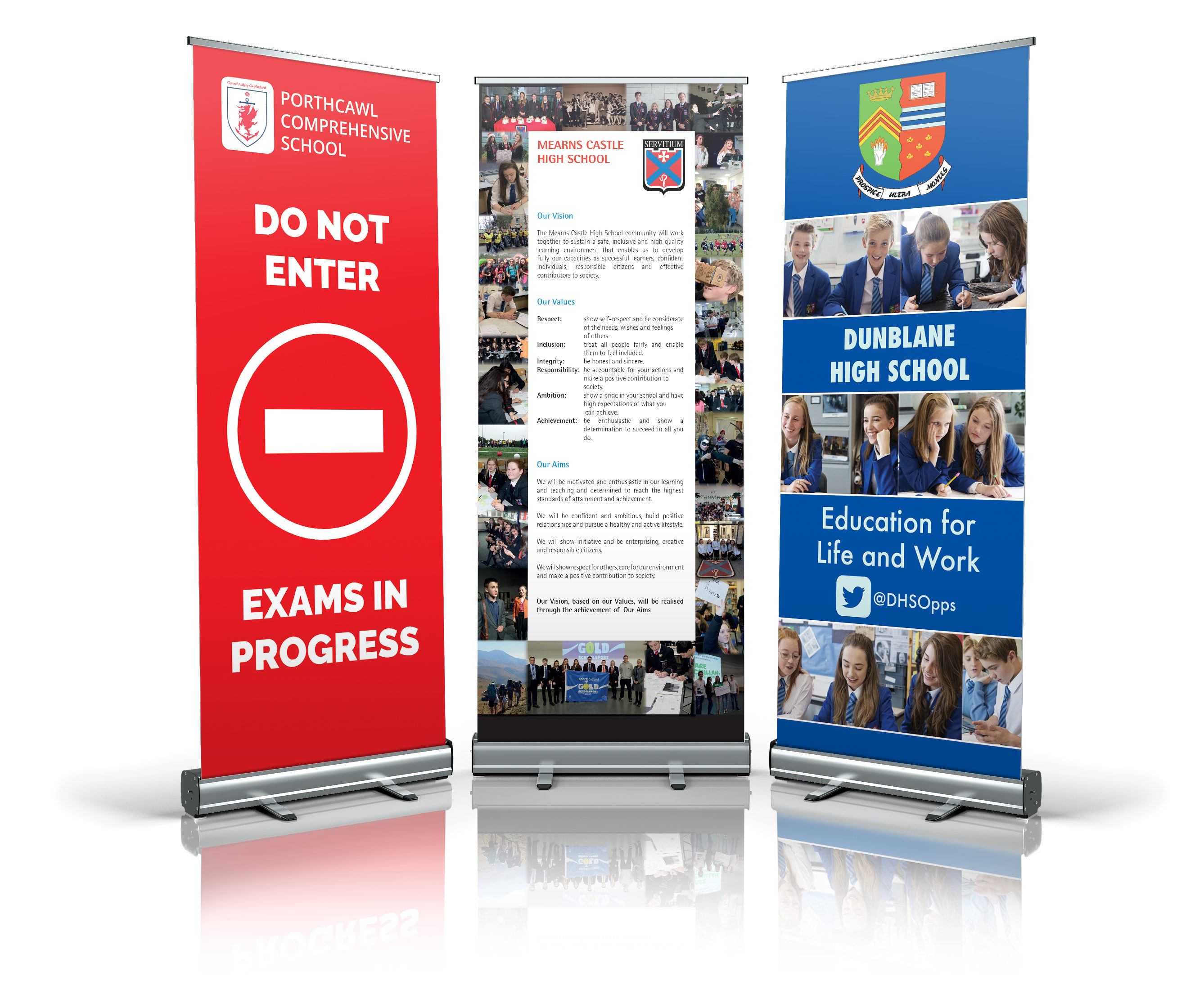 Primary Yearbooks Roller Banner Stands Image 1