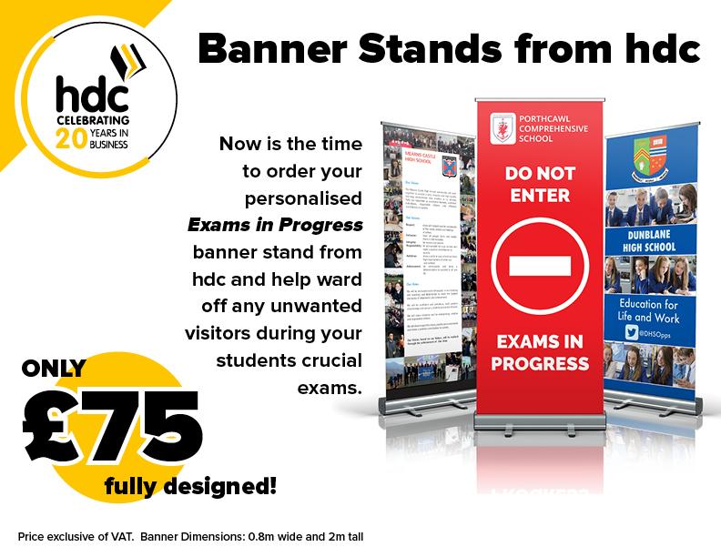 Banner Stand Advert Offer
