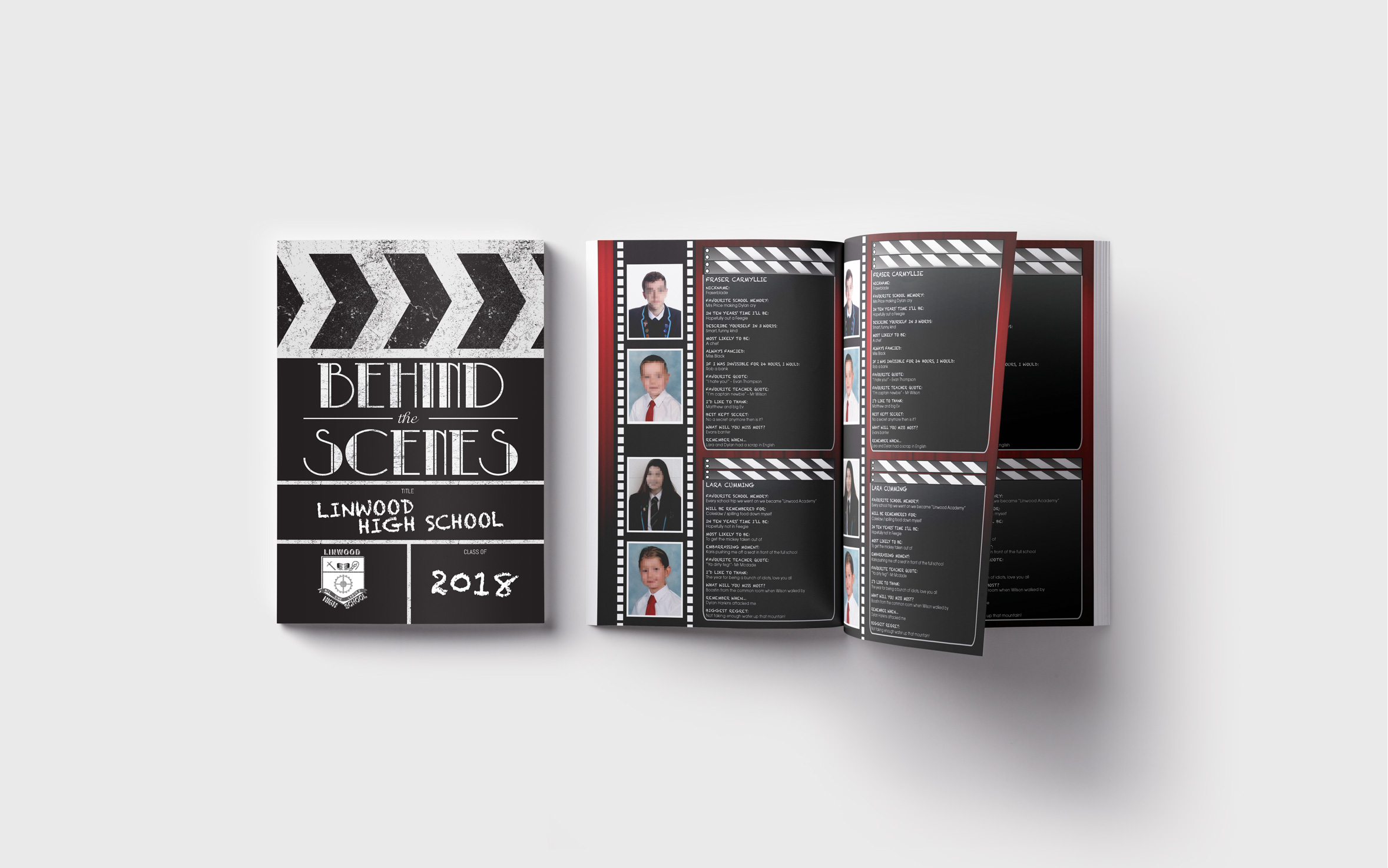 Cinema Theme Yearbook