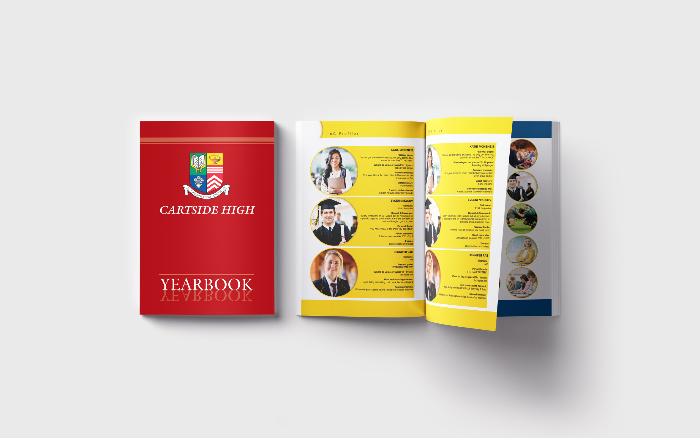 Traditional Theme Yearbook