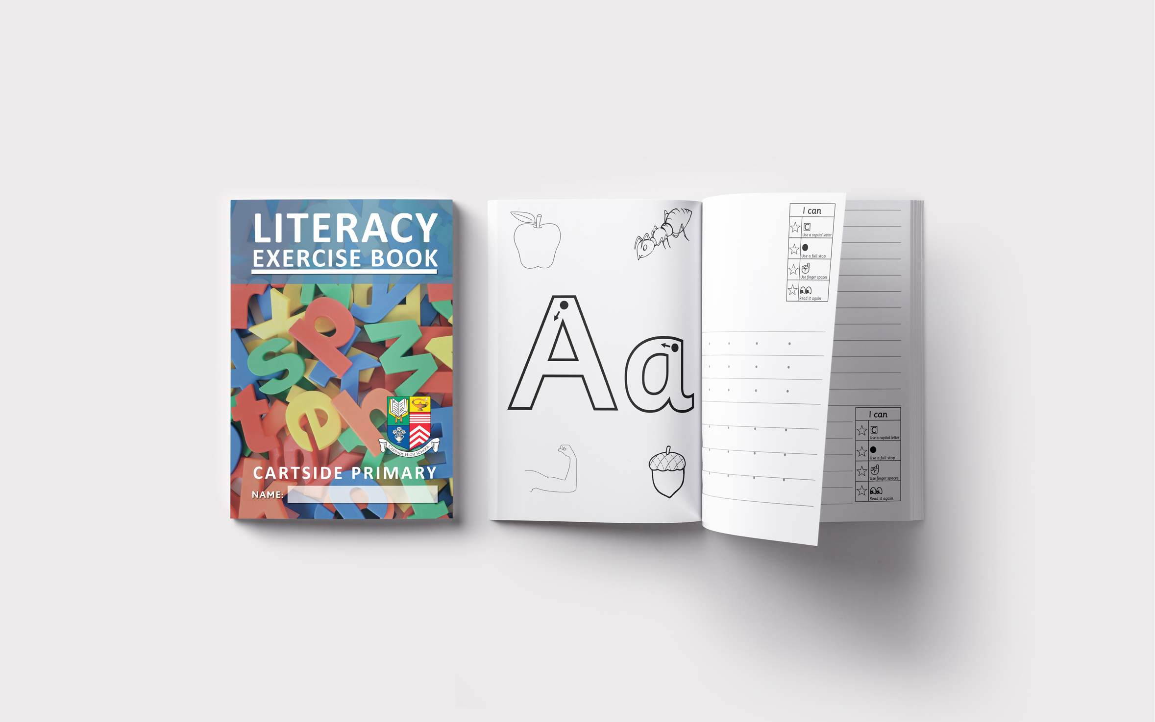 Literacy Early A4 Mock up